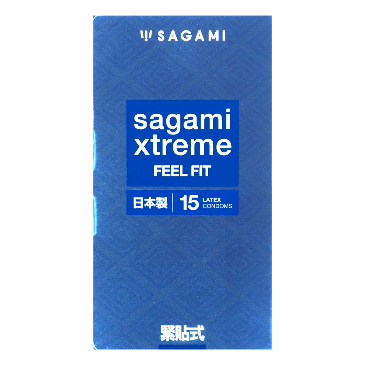 Sagami Xtreme Feel Fit 51mm 15's Pack Latex Condom